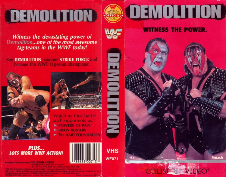 WWF-DEMOLITION